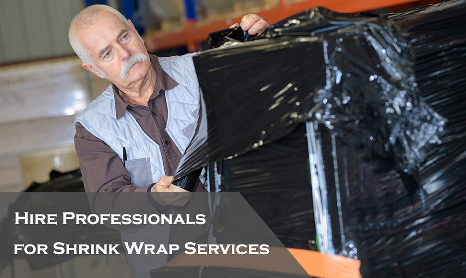 Shrink wrapping services