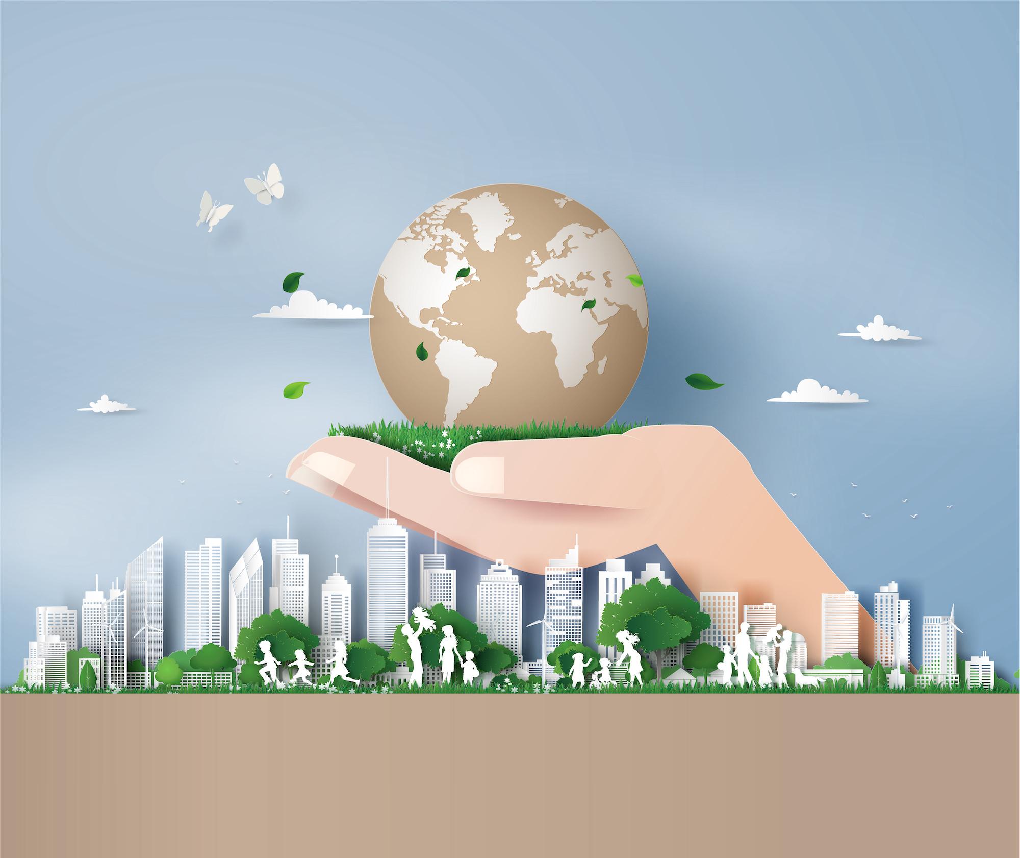 Environmentally friendly direct mail marketing